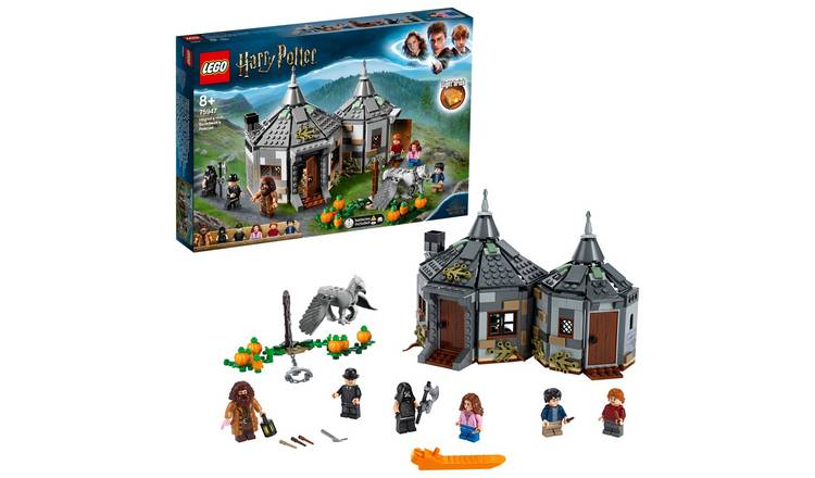 LEGO Harry Potter Hagrid's Hut Hippogriff Rescue Set - 75947