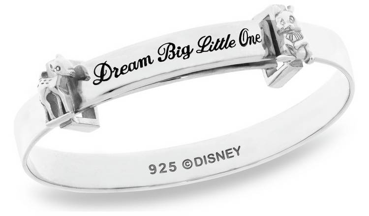 Disney Sterling Silver Bambi Christening Bangle 0-18months