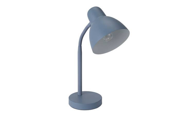 Argos Home Desk Lamp - Cornflower Blue