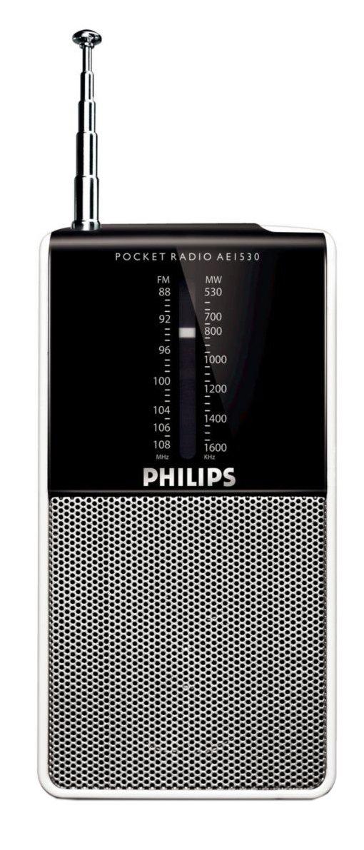Philips FM Personal Radio - White
