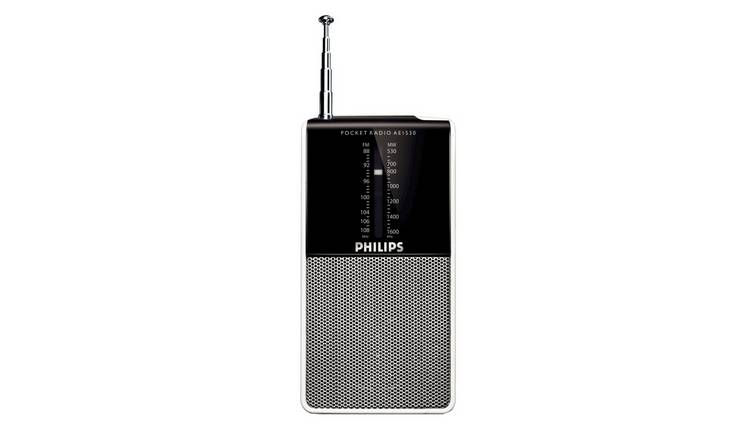 Philips FM Personal Radio - White