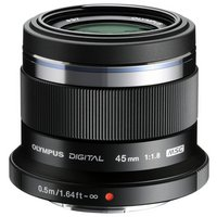 Olympus 45mm Portrait lens - Black