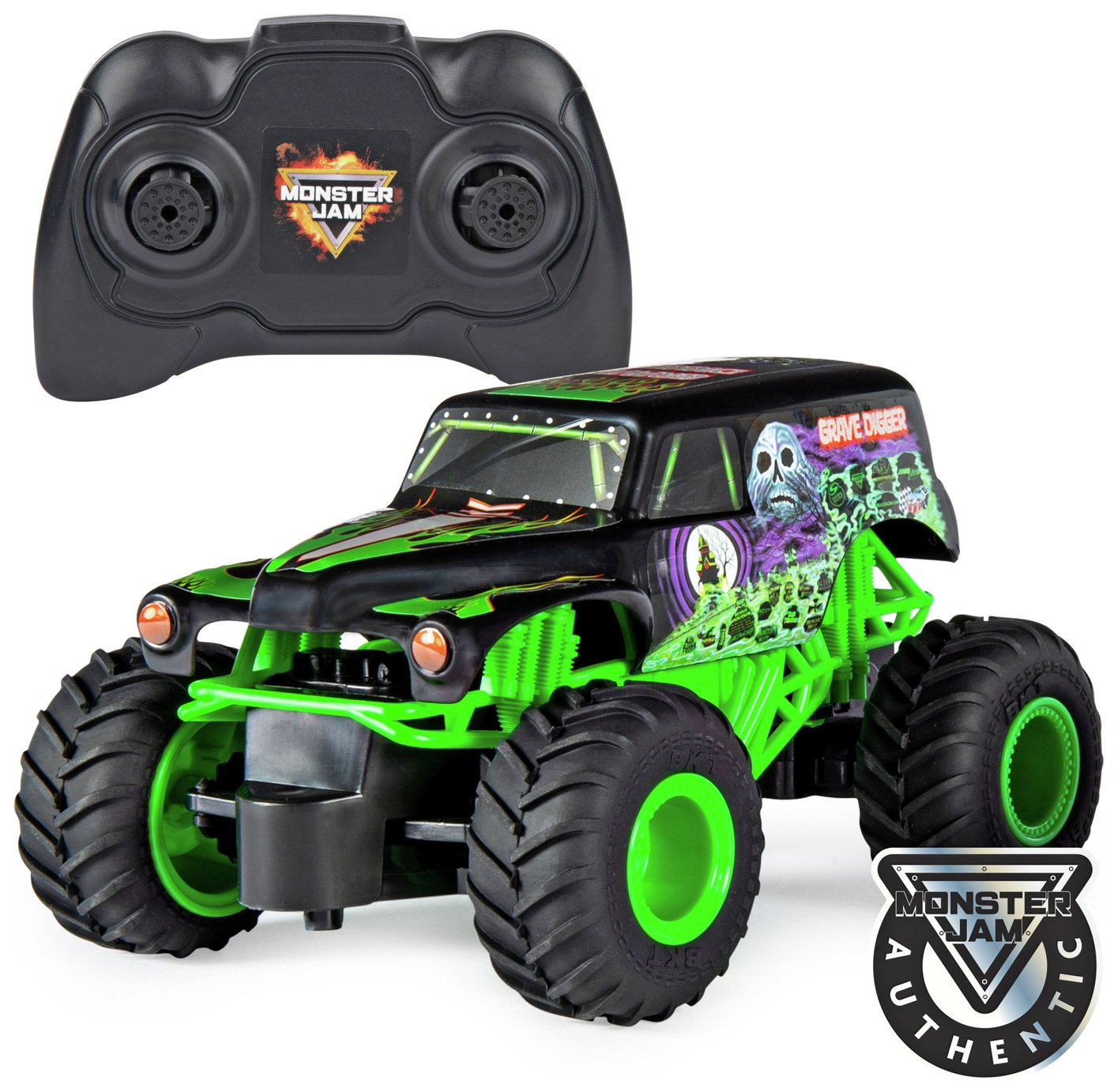 Monster Jam Grave Digger 1:24 Radio Controlled Truck