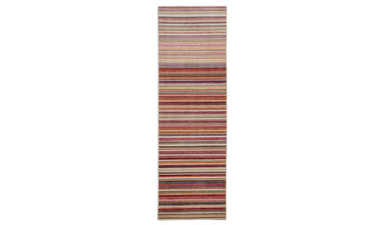 Habitat Stripe Runner 66x200cm - Multicoloured