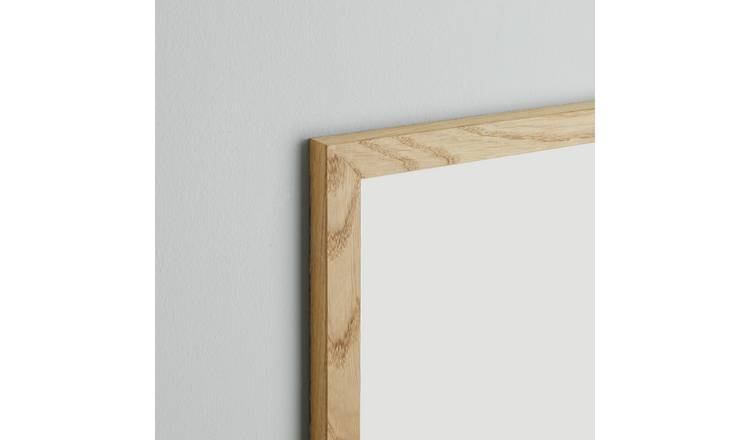 Habitat Houston 70 X 100cm/28 X 39inch Oak Wall Frame