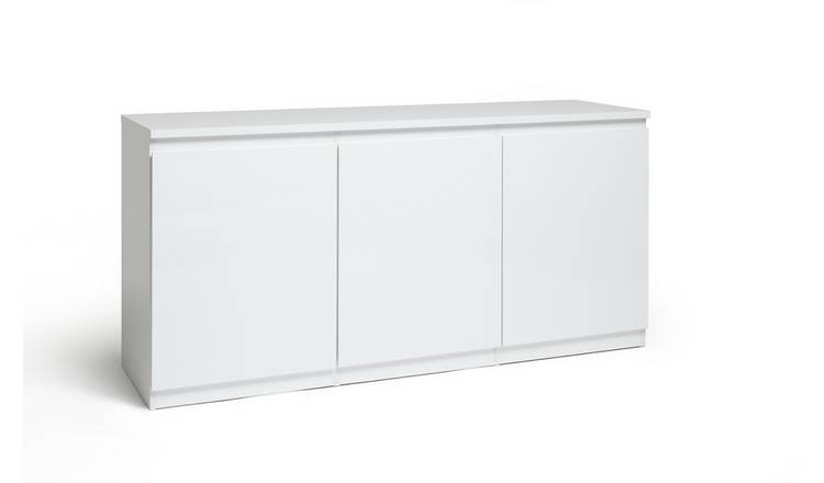 Habitat Jenson 3 Door Sideboard - White