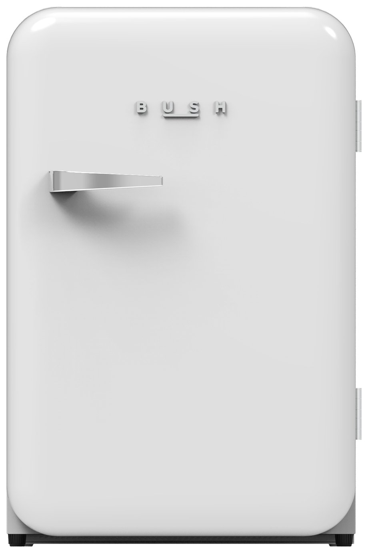 Bush Retro MUCFR55WHT Under Counter Freezer - White