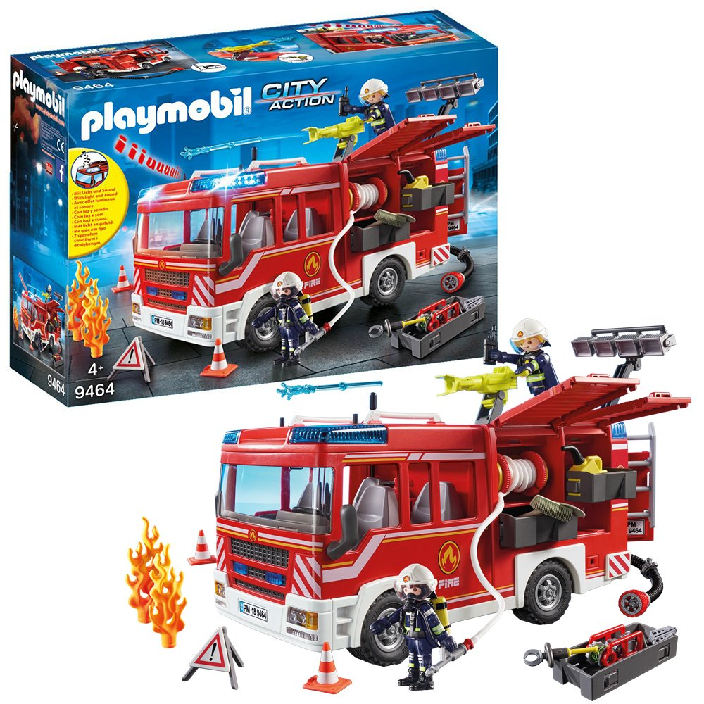 Playmobil 9464 City Action Fire Engine Toy