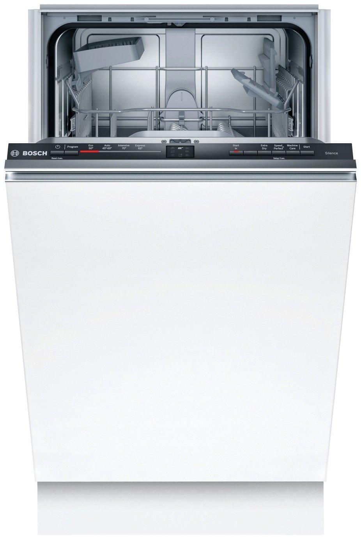 Bosch SRV2HKX39G Slimline Dishwasher - White
