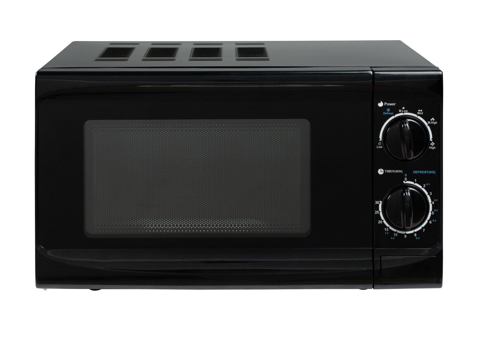 Cookworks 700W Standard Microwave MM7 - Black