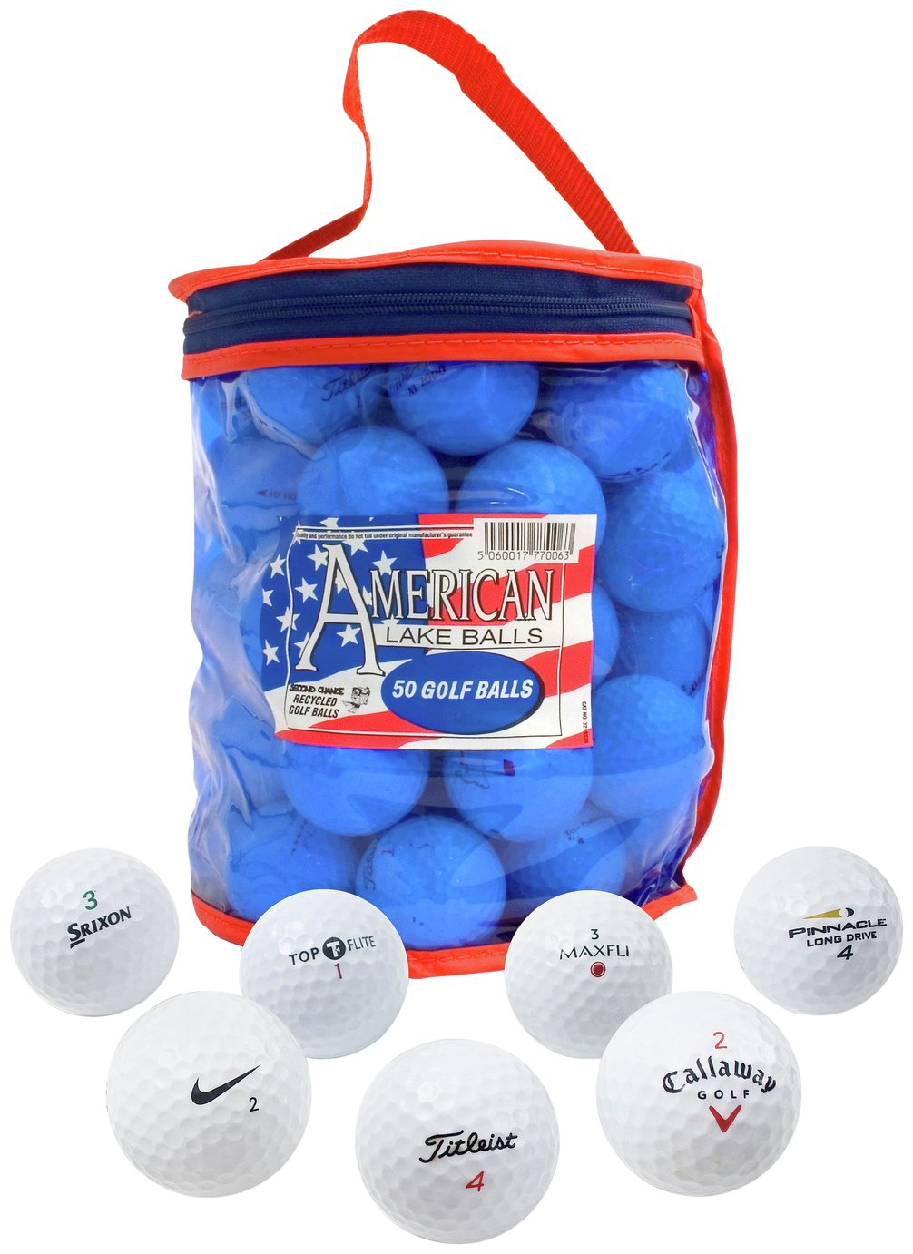 Lake Golf Balls - 50 Pack