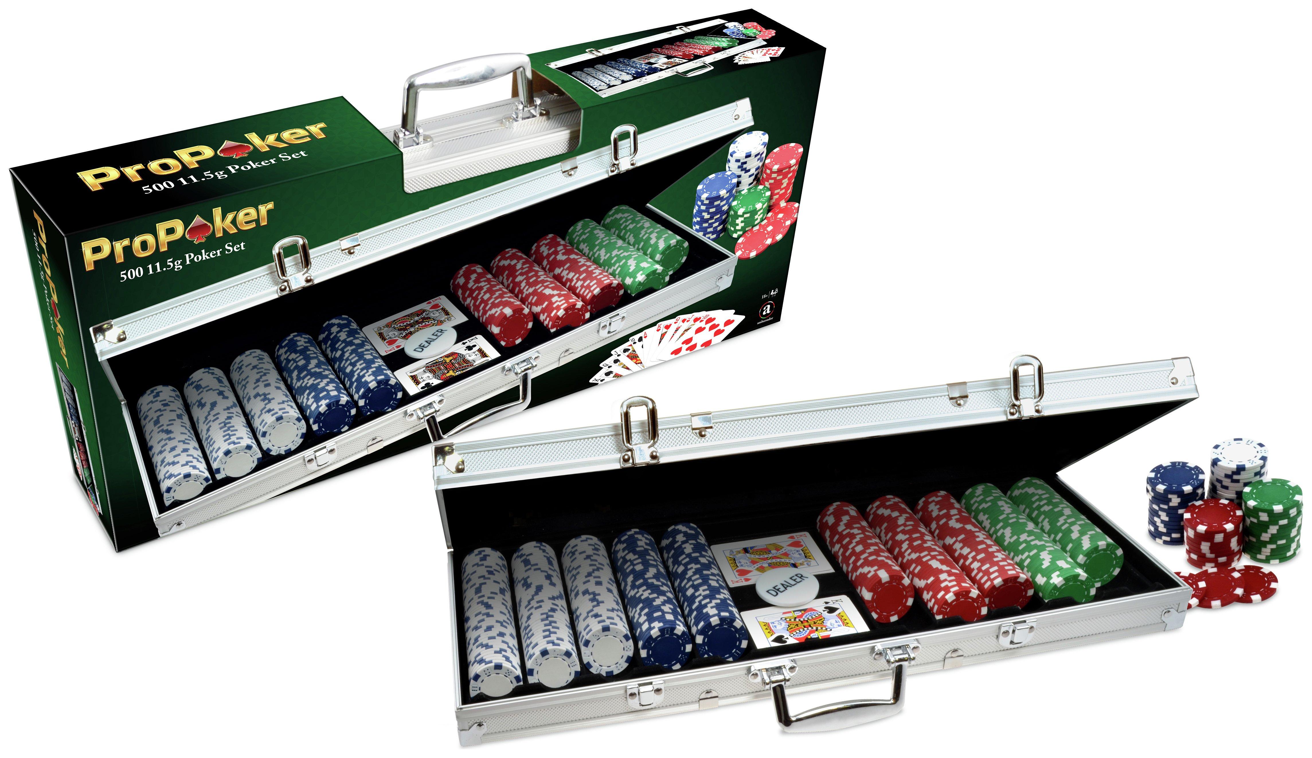 Image of ProPoker Professional 500 Chip Poker Set