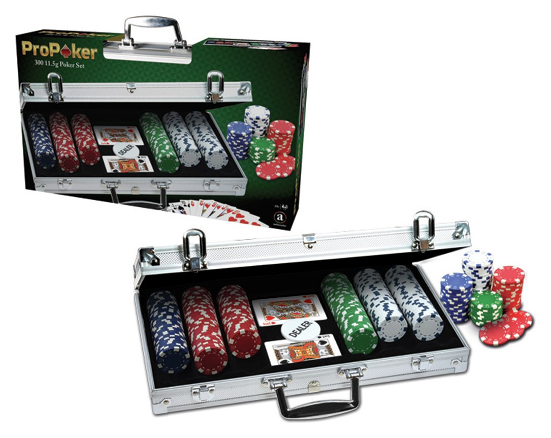 Image of ProPoker Professional 300 Chip Poker Set