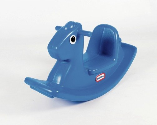 Image of Little Tikes Rocking Horse - Blue