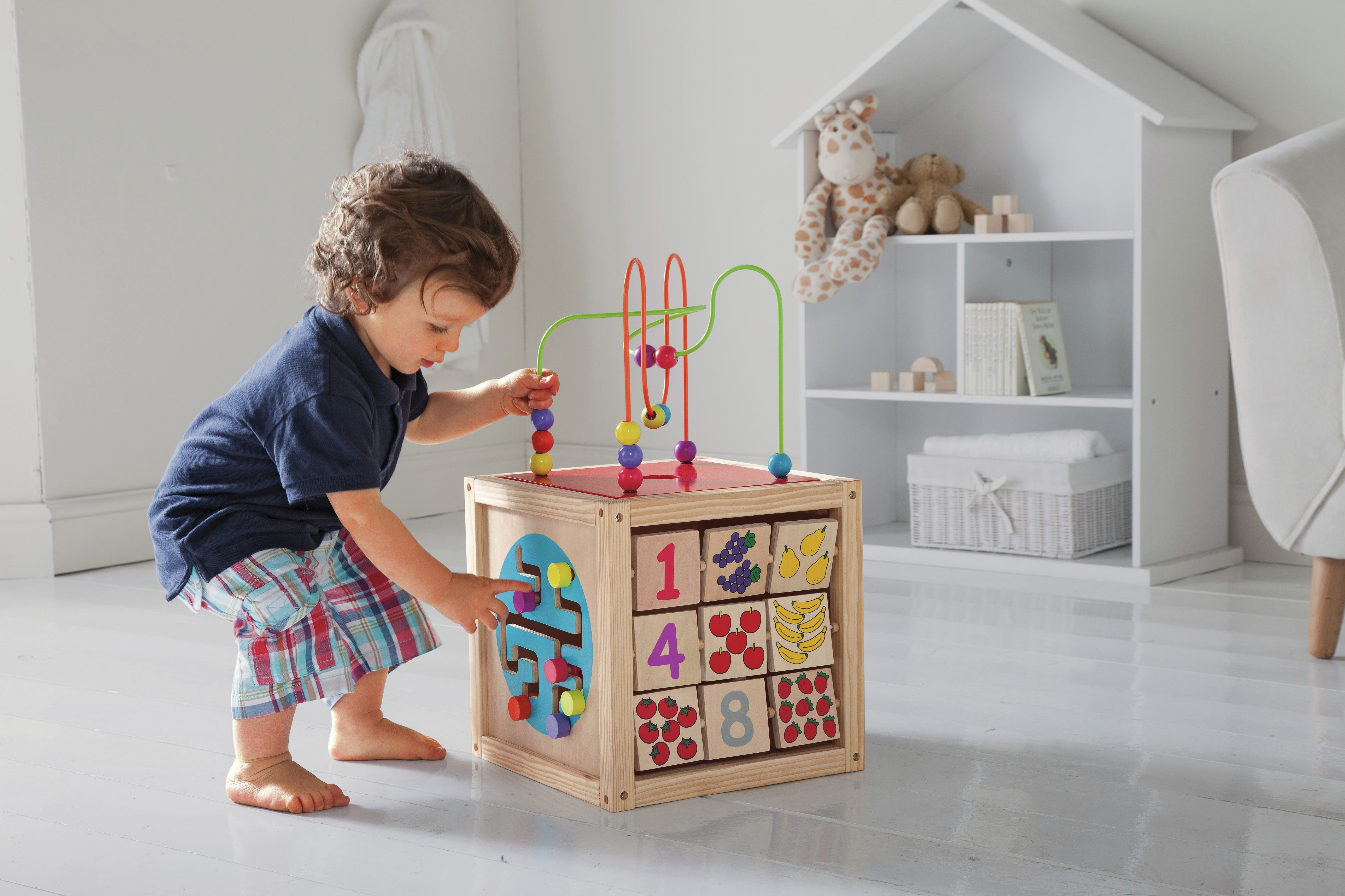 Chad Valley PlaySmart Wooden Activity Centre