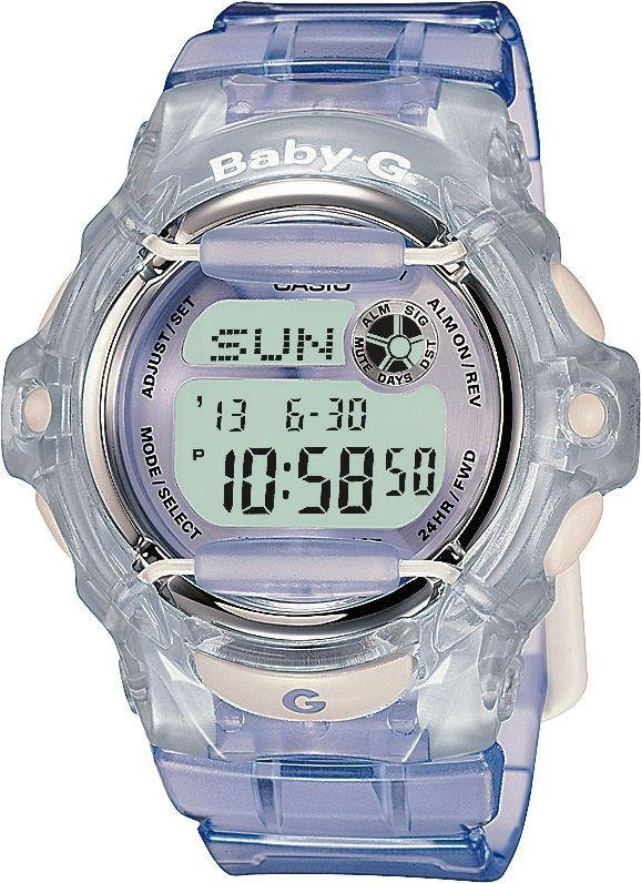 Image of Baby-G by Casio - Ladies Lilac LCD - Watch