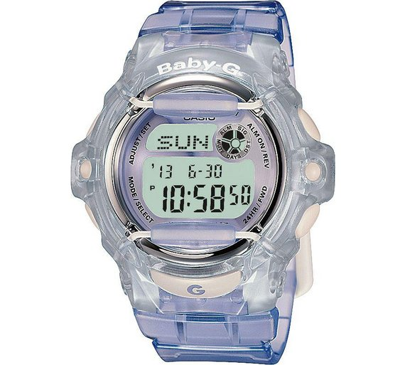 Buy Casio Baby-G Ladies  Lilac LCD Watch  4deb418f2595