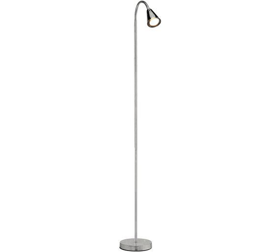 Buy collection reading light floor lamp chrome at argos collection reading light floor lamp chrome aloadofball Choice Image