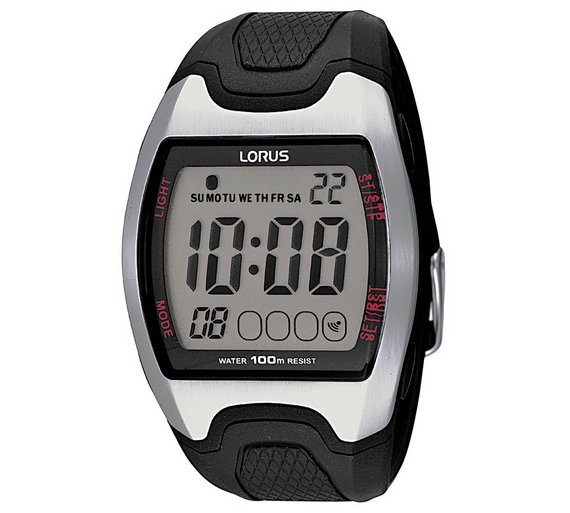 Buy Lorus Mens Large Display Digital Sports Watch Mens Watches