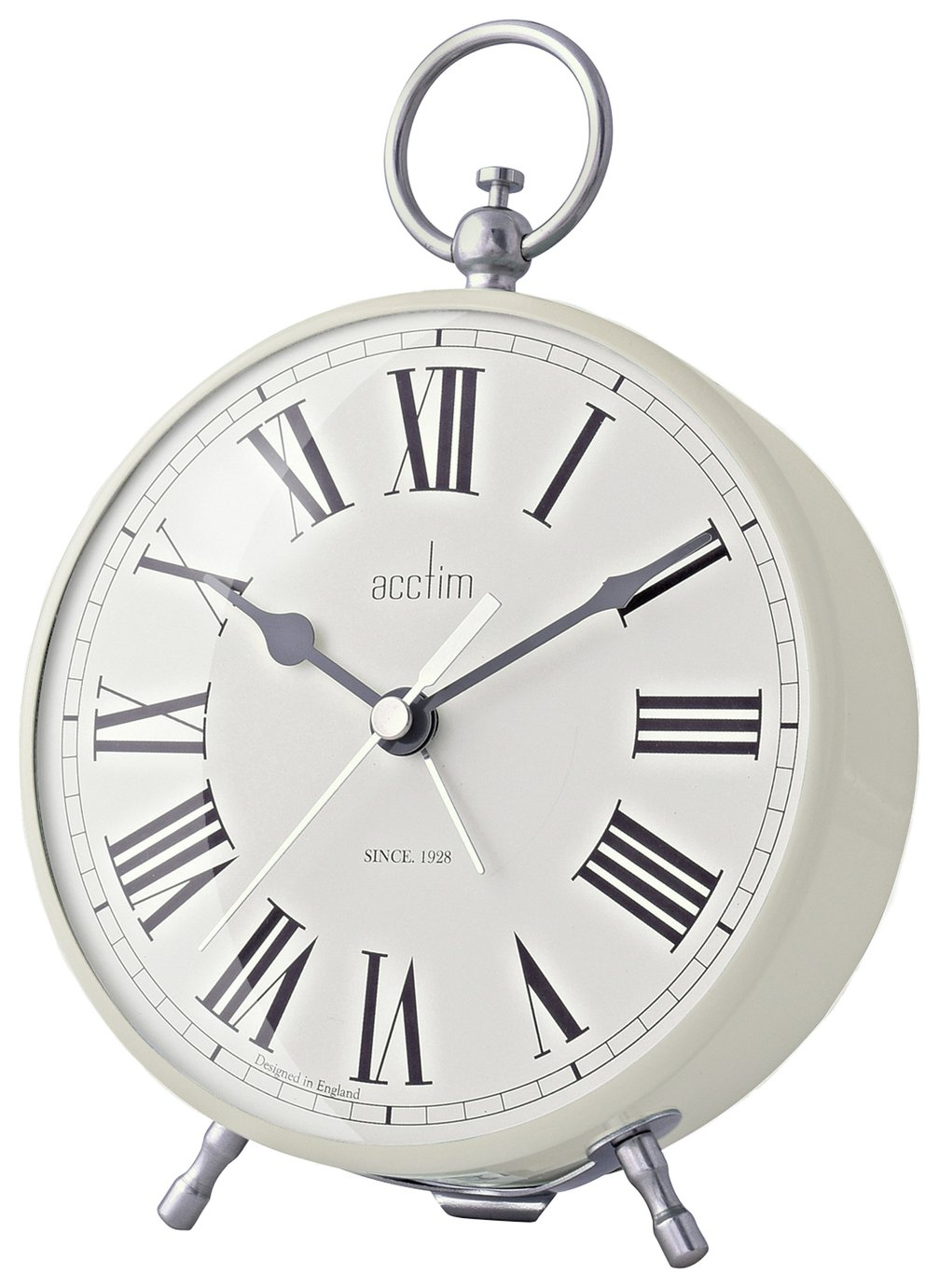 Acctim Caitlin Fob Alarm Clock - Cream