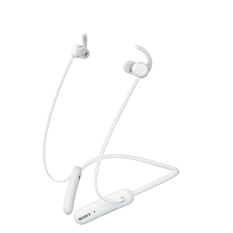 Sony WI-SP510 In-Ear Wireless Headphones - White