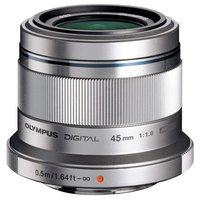 Olympus 45mm Portrait Lens - Silver