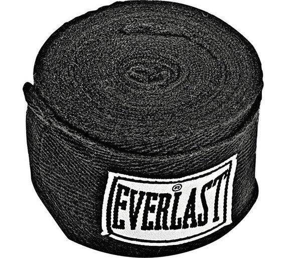 how to put on everlast boxing hand wraps