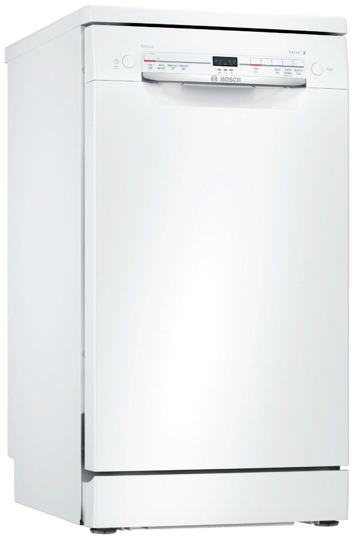 Bosch SRS2IKW04G Slimline Dishwasher - White