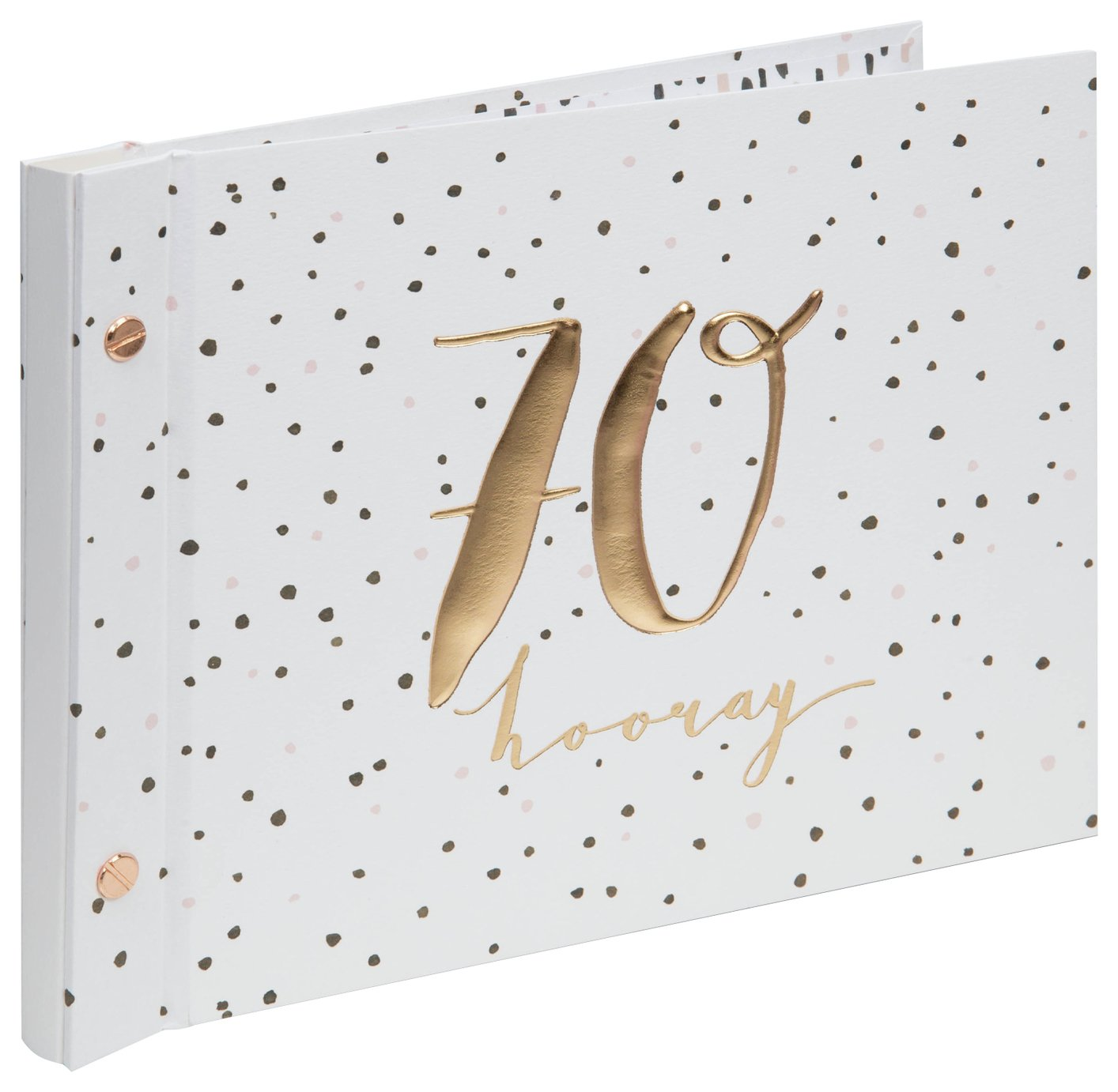 Hotchpotch Luxe 70th Birthday Guest & Photo Frame