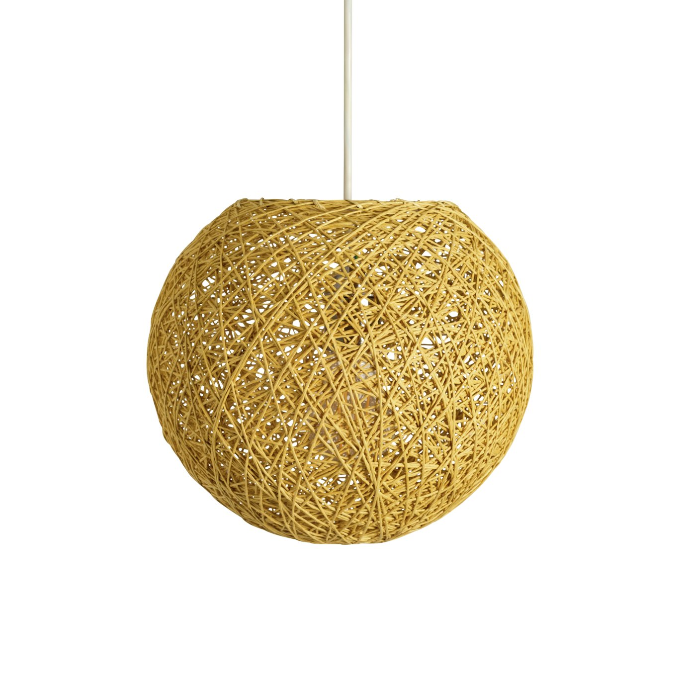HOME - Abaca Ball Shade - Natural
