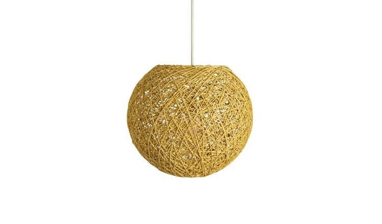 Argos Home Abaca Ball Shade - Natural