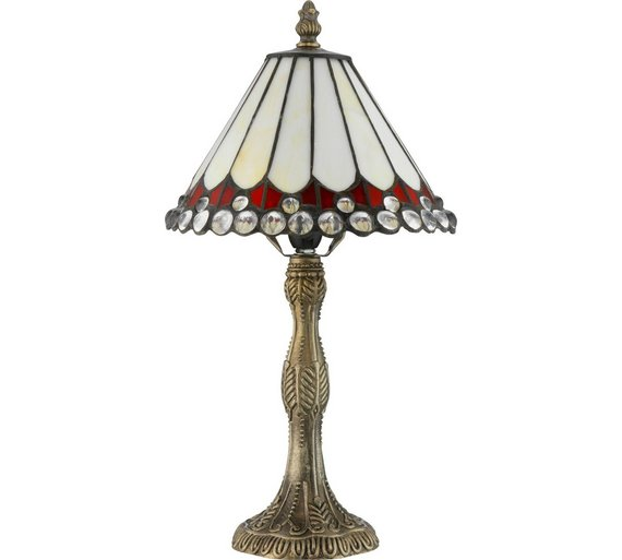 Buy collection tiffany style jewel table lamp cream table lamps collection tiffany style jewel table lamp cream aloadofball Gallery