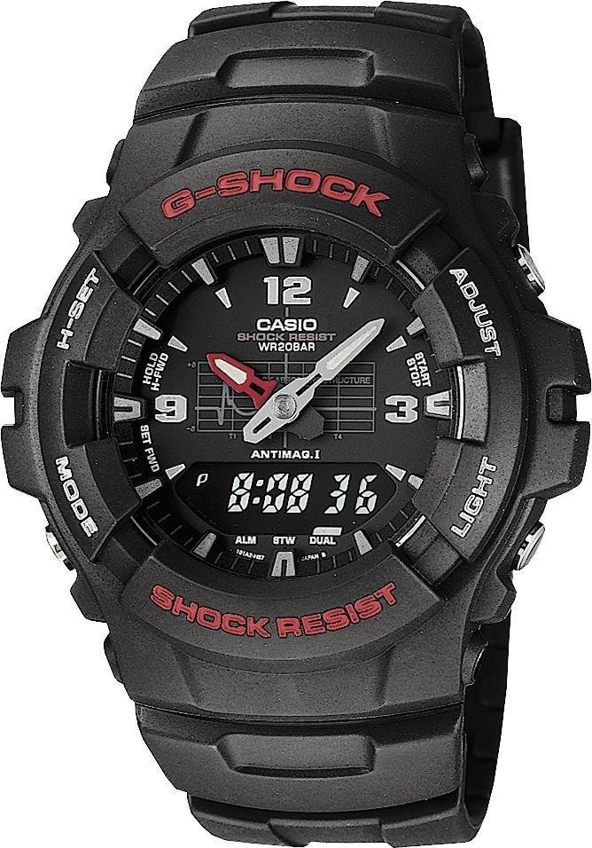 gshock by casio menu0027s black combi watch