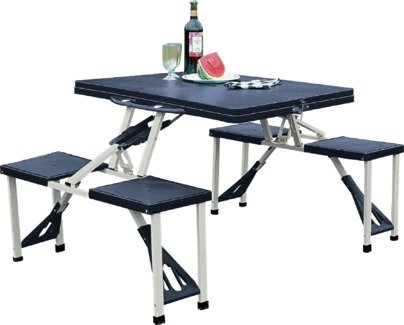 Buy Folding Picnic Table and Stools at Argoscouk Your Online