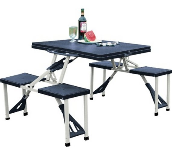 Buy Folding Picnic Table And Stools At Your Online Shop For Cam