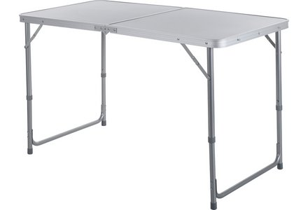 Image of the Twin Height Folding Aluminium Table.