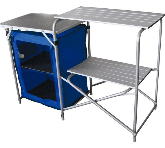 Buy Aluminium Camping Kitchen and Table Set at Argos.co.uk - Your ...