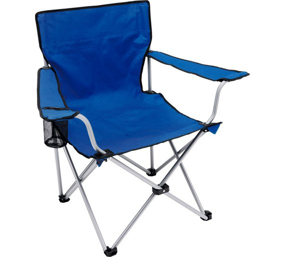 buy steel folding camping chair camping chairs argos