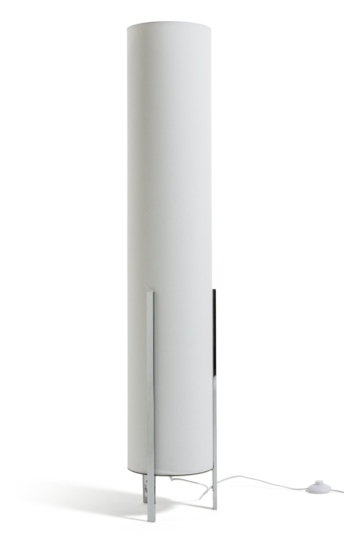 Habitat Column Floor Lamp - White