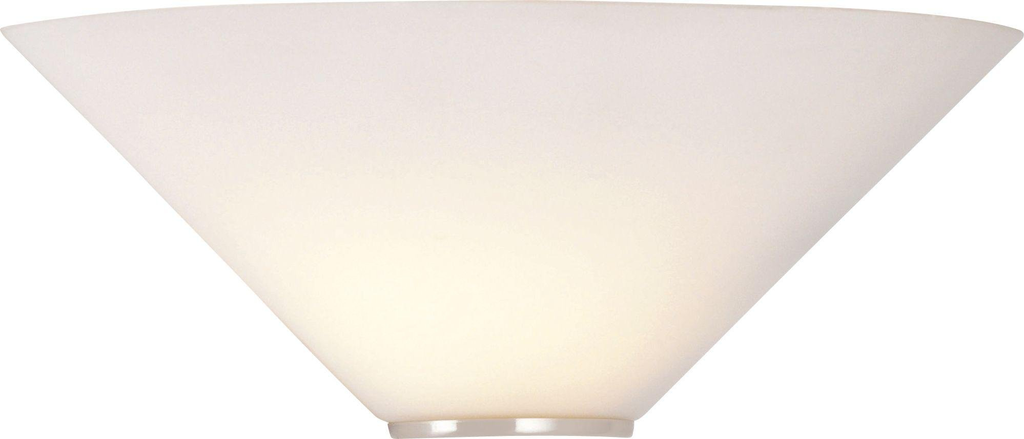 Argos Home Mozart Glass Uplighter Wall Light