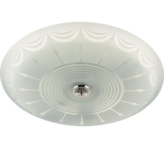 Buy Argos Home Circular Fluorescent Ceiling Fitting White - Kitchen light fixtures argos