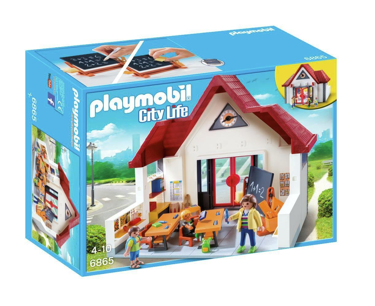 Playmobil 6865 School House Playset