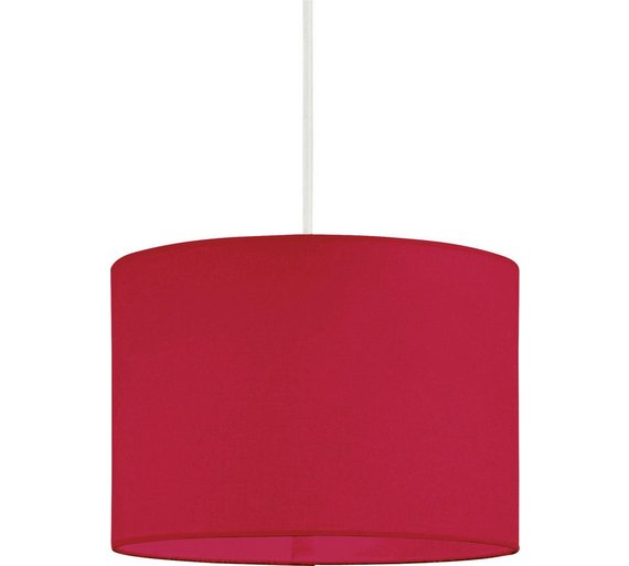 Buy Colourmatch Fabric Light Shade Poppy Red At Argos Co