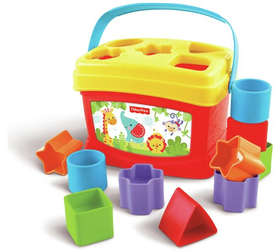 Buy Fisher Price Babys First Blocks Baby Activity Toys Argos