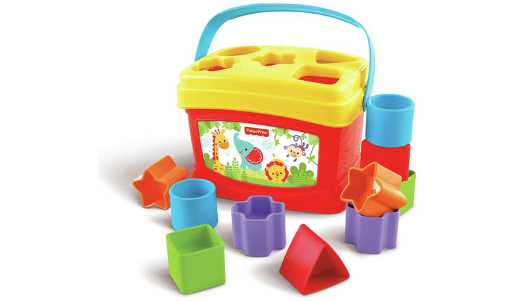 17a3e9d6b5dd42 Buy Fisher-Price Baby's First Blocks | Early learning toys | Argos