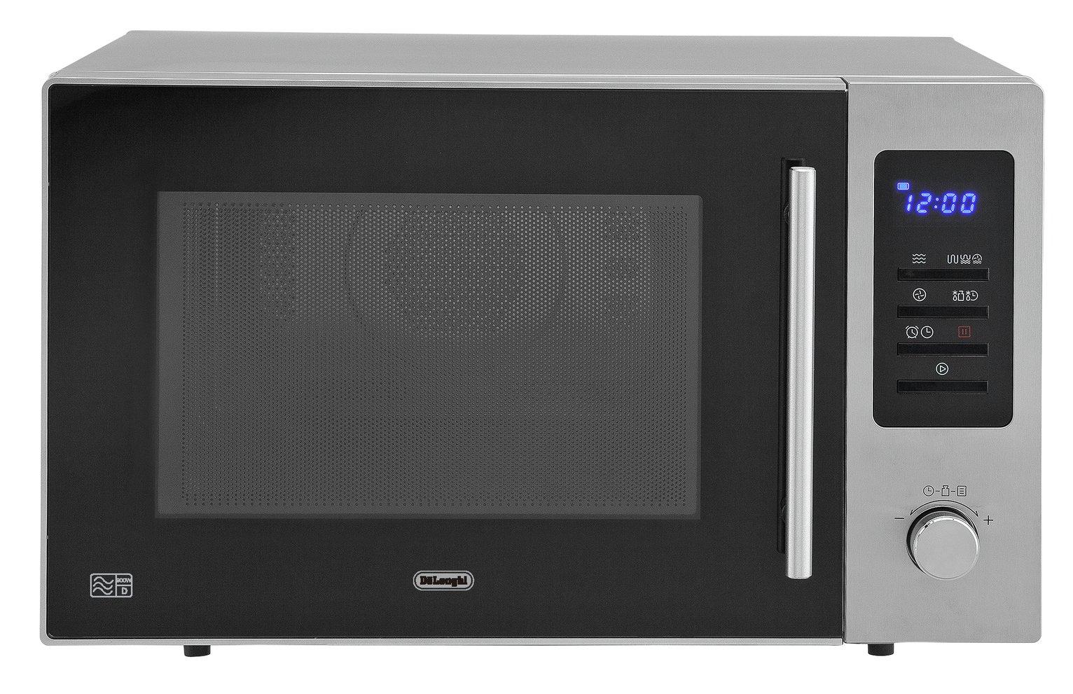 De'Longhi 900W Combination Microwave AM925 - Grey