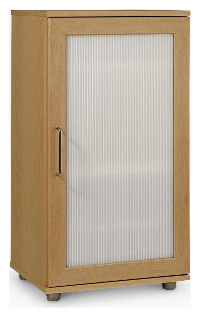 home shoe storage cabinet beech effect