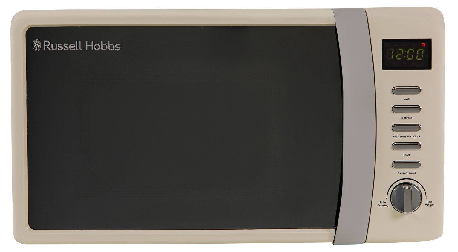 Russell Hobbs 700W Standard Microwave RHMD712 - Cream