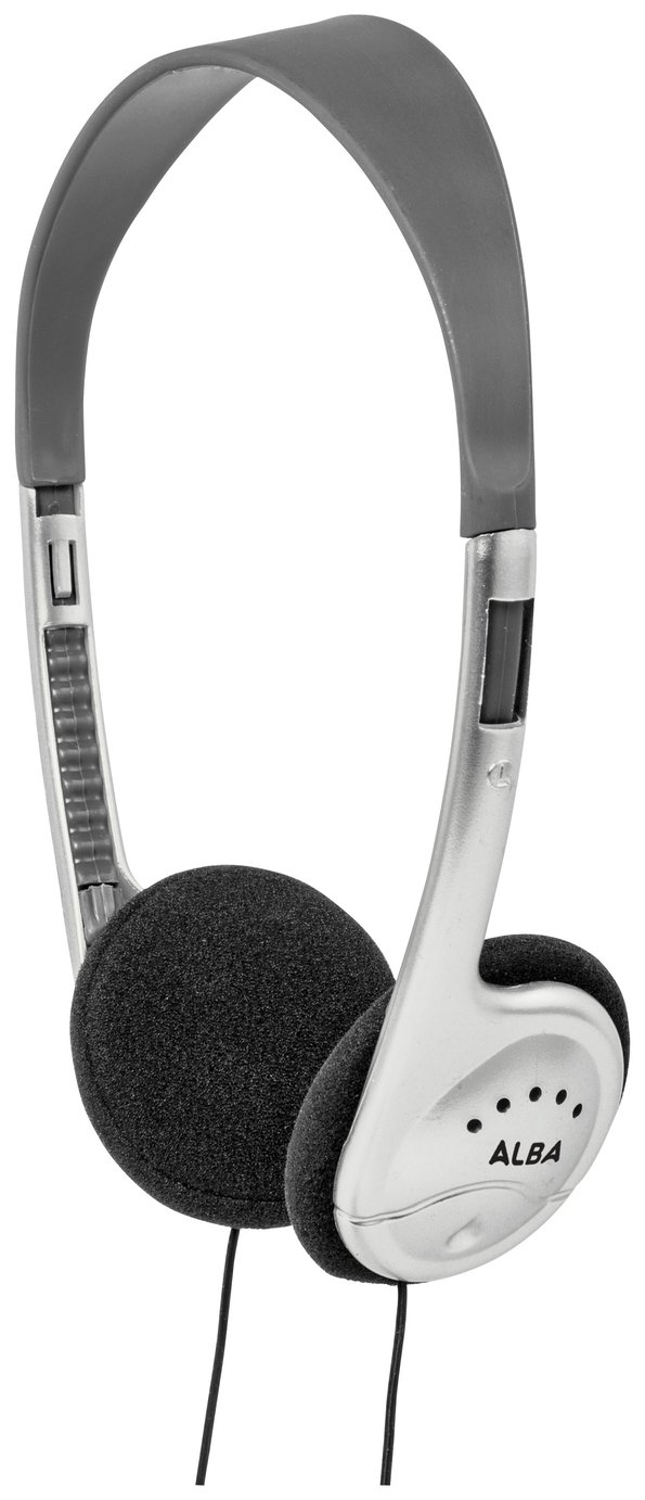 Alba On-Ear Headphones - Silver