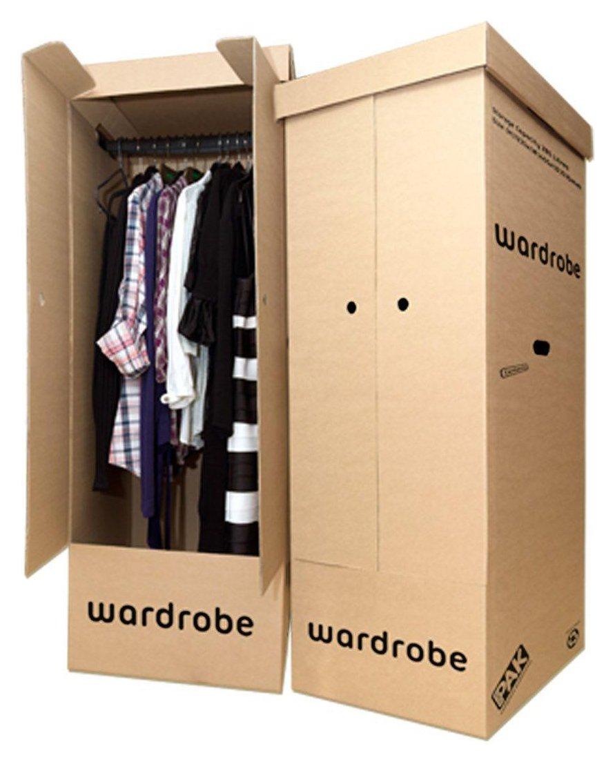 StorePAK Wardrobe Box - Pack of 2